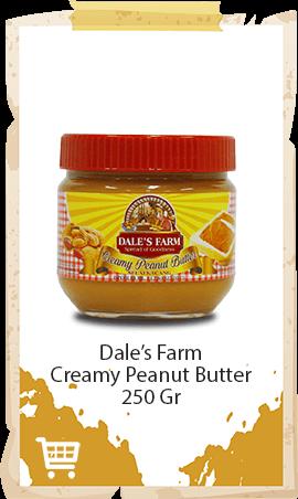 Selai Kacang Dale's Farm Creamy 250gr