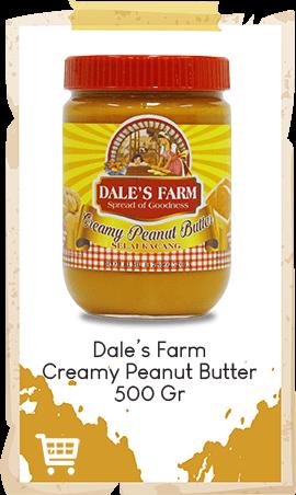 Selai Kacang Dale's Farm Creamy 500gr