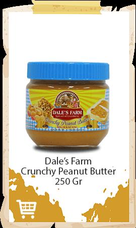 Selai Kacang Dale's Farm Crunchy 250gr