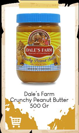 Selai Kacang Dale's Farm Crunchy 500gr