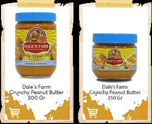 Selai Kacang Dale's Farm Crunchy