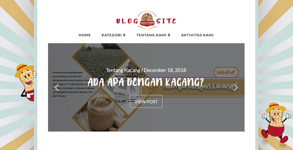 Selai kacang blogsite